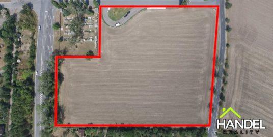 Komerční pozemek Horní Moštěnice